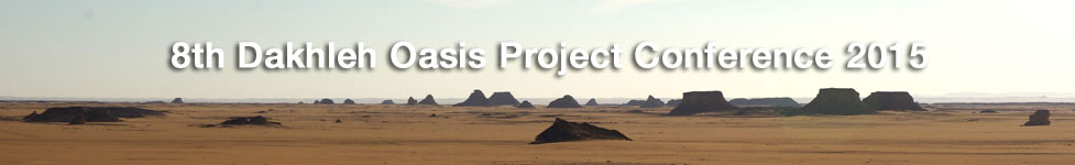 8th Dakhleh Oasis Project Conference 2015